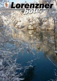 Lorenzner Bote - Ausgabe Jänner 2012 (3,36 MB