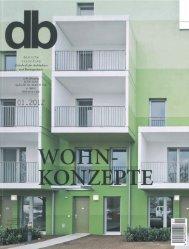 Deutsche Bauzeitung, Januar 2012