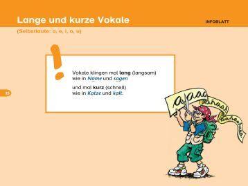 Lange und kurze vokale