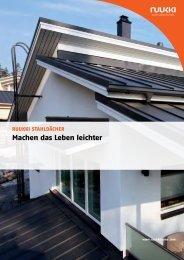 Dachprofile - WIKON Bau & Systeme GmbH