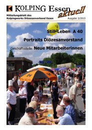 """Tag der offenen Tür"" 2010 - Kolpingsfamilie-Klosterhardt.de"