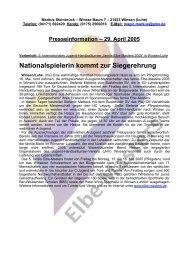 Presseinformation – 29. April 2005