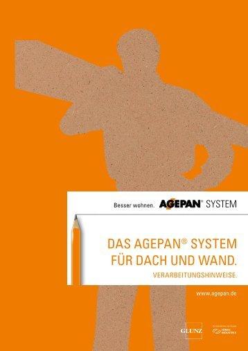 Das agepan® system für Dach unD WanD.