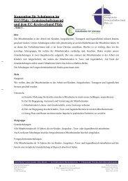 Konzeption für Schulungen im EGVPfalz / Gemeinschaftsjugend und ...