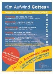 Im Aufwind Gottes - Evangelischer Gemeinschaftsverband Pfalz e.V.