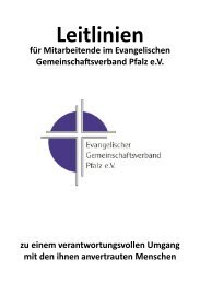 Anhang - Evangelischer Gemeinschaftsverband Pfalz e.V.