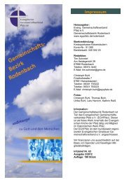 Impressum - Evangelischer Gemeinschaftsverband Pfalz e.V.