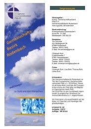 Infobrief I / 2012 - Evangelischer Gemeinschaftsverband Pfalz e.V.