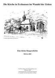 Die Kirche in Erzhausen im Wandel der Zeiten - Evangelische ...
