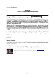 Übungsfall 10 (pdf) - Prof. Dr. Stephan Lorenz