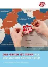 Broschüre Wirtschaft - Oberfranken