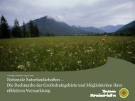 Nationale Naturlandschaften – Die Dachmarke der ...