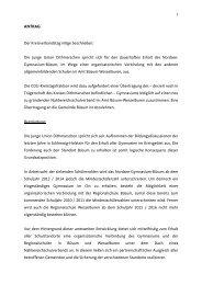 Antrag Gymnasium Büsum - ju kreisverband dithmarschen