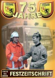 Hier gibt es die 75 Jahre Festzeitschrift zum - Feuerwehr Sengwarden