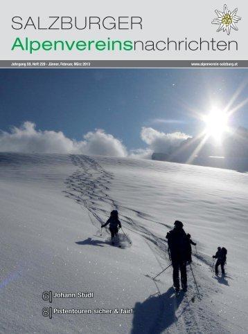228 Jänner-Februar-März 2013 - Alpenverein Salzburg
