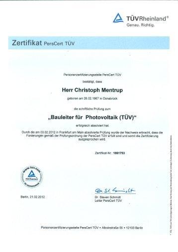 LGA Qualitäts-Zertifikat