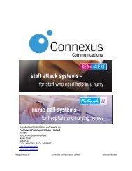 control equipment - Connexus Communications