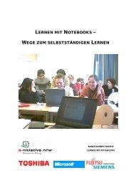 lernen mit notebooks - Stiftung Partner für Schule NRW
