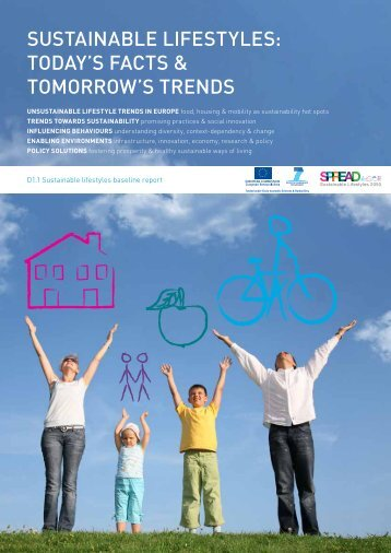 today's facts & tomorrow's trends - SPREAD Sustainable Lifestyles ...