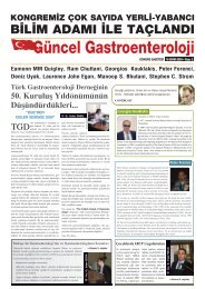 16 / 10 / 2009 - Türk Gastroenteroloji Vakfı
