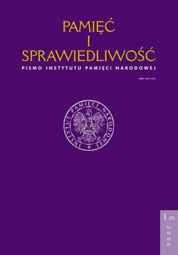 Wersja do wydruku w formacie pdf - Instytut Pamięci Narodowej