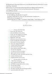 Mittelhochdeutsche Minnereden II - Mittelhochdeutsches Wörterbuch