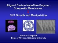 Electric Field Aligned CVD Growth of Single Walled Carbon ...