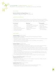 Carrie Hempfer > Graphic Designer > Resume - Carriehempfer.com
