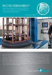 PA CVD-VerfAhren* - Werz Vakuum-Wärmebehandlung GmbH