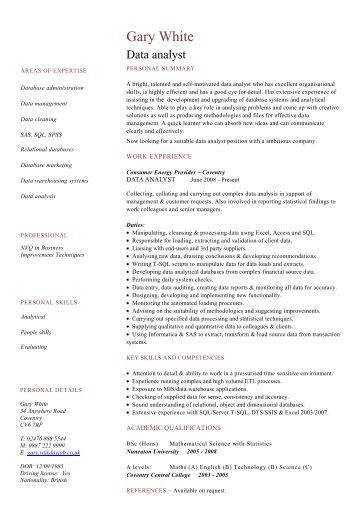 graduate architect cv sample