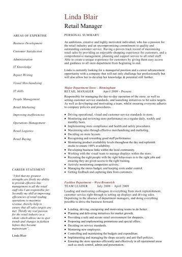 Trainee solicitor cv template dayjob retail manager cv template resume dayjob pronofoot35fo Gallery