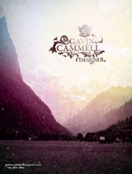download cv - Gavin Cammell