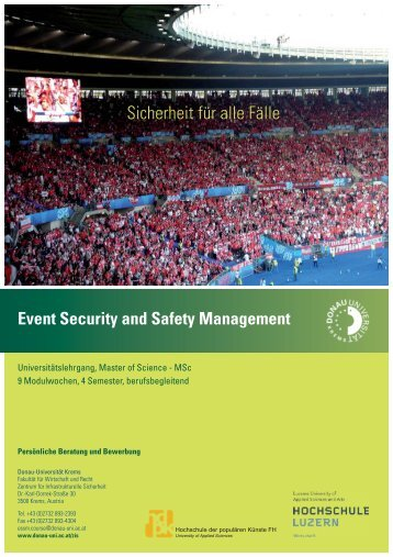 Event Security and Safety Management - SecureLINE