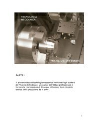 Tecnologia Meccanica 1 - Sismondi - Pacinotti
