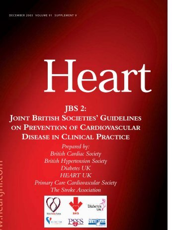 Joint British Societies' guidelines on prevention of