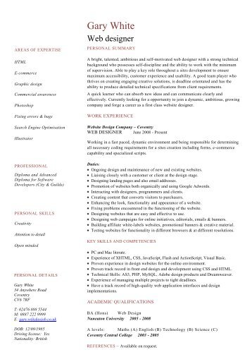 Welder cv template example dayjob web designer cv template dayjob yelopaper Image collections