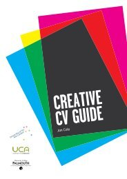 Creative CV Guide - Careers Advisory Service - University College ...