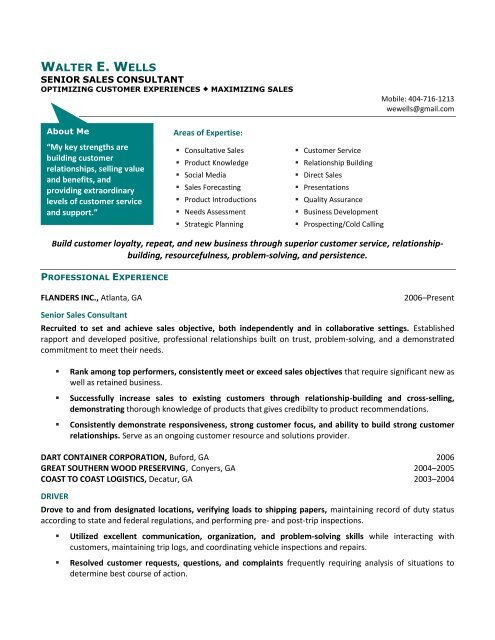 technical consultant resume sample