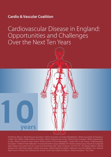 Cardiovascular Disease in England - British Heart Foundation