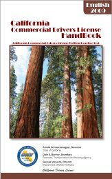 California HandBook - CDL Written Practice Tests