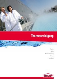 Professionelle Thermenreinigung - Schmidt Gebäudereinigung
