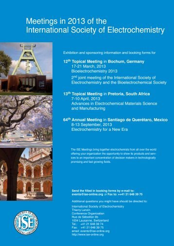 Exhibitor Registration 12th Topical Meeting of the international ...