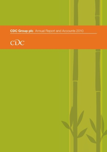 CDC Group plc Annual Report and Accounts 2010