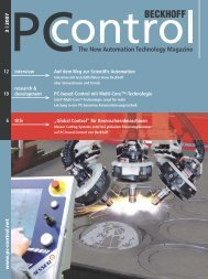 PC-Control 3|2007 - PC-Control The New Automation Technology ...