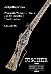 UND ANTIQUITÄTENAUKTION 8.September 2011 - Galerie Fischer ...