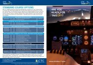 ARE YOU READY FOR TAKEOFF? - CTC Aviation