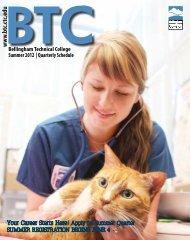 BTC Summer Quarterly Schedule - Bellingham Technical College ...
