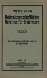 NaUssenschqftlichen Vereines für Steiermark