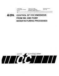 manufacturing processes - US Environmental Protection Agency