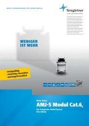 2167 AMJ-S Modul Flyer U1-4 04.indd - SKG Netzwerktechnik GmbH